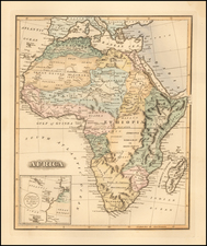 Africa Map By Fielding Lucas Jr.