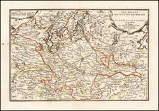 Northern Italy Map By Nicolas de Fer