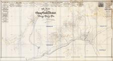 Colorado and Colorado Map By Wheeler & Hurlburt