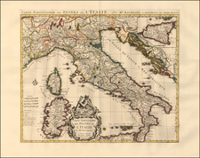 Italy Map By Pieter Mortier