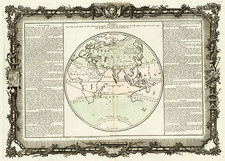 World and Eastern Hemisphere Map By Buy de Mornas