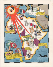 Europe and Africa Map By Richard Q. Yardley  &  Peggy Yardley