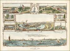 Ohio Map By Orlando V. Schubert