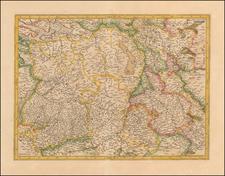 Netherlands and Belgium Map By  Gerard Mercator