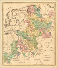 Germany Map By Robert Wilkinson