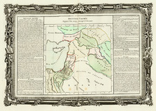 Asia, Middle East, Holy Land and Turkey & Asia Minor Map By Buy de Mornas