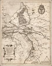 Netherlands Map By Paolo Forlani / Giovanni Francesco Camocio
