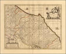 Northern Italy Map By Peter Schenk  &  Gerard Valk