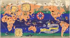 World Map By J.B. Jannot