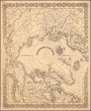 Polar Maps Map By G.W.  & C.B. Colton