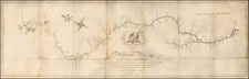 South, Midwest and Plains Map By Zebulon Montgomery Pike