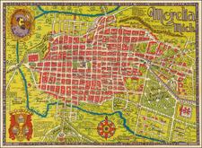 Mexico Map By Justino Fernandez Garcia