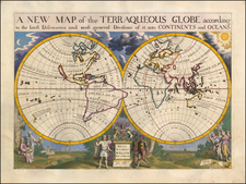 World Map By Edward Wells