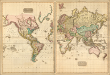 World Map By John Pinkerton