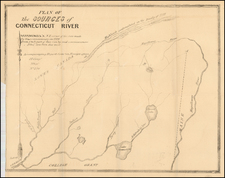 New England, New Hampshire and Vermont Map By United States GPO