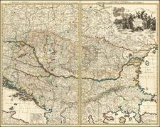 Poland, Hungary, Romania, Czech Republic & Slovakia, Balkans, Greece and Turkey Map By Pieter Mortier