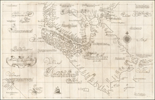 South America, Argentina and Chile Map By Robert Dudley