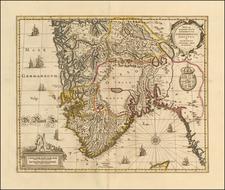 Norway Map By Peter Schenk  &  Gerard Valk