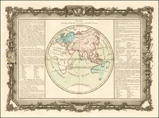 Eastern Hemisphere Map By Buy de Mornas