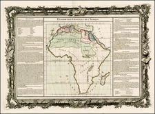Africa and Africa Map By Buy de Mornas