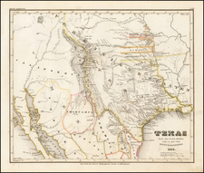 Texas, Plains and Southwest Map By Joseph Meyer