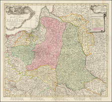Poland Map By Mortier, Covens & Zoon