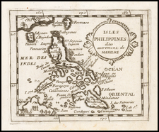 Philippines Map By Pierre Du Val
