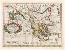 Romania, Balkans, Bulgaria and Greece Map By Edward Wells