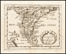 India Map By Pierre Du Val