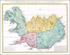Iceland Map By Homann Heirs
