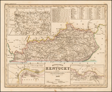 Kentucky Map By Joseph Meyer