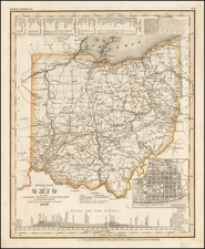 Ohio Map By Joseph Meyer