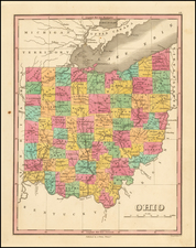 Ohio Map By Anthony Finley