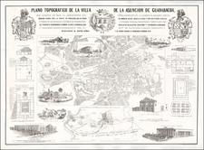 Cuba Map By Rafael Rodriguez / Mariano Carles Caadeval