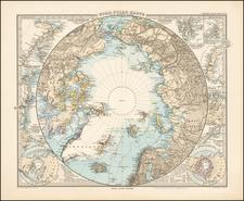 Polar Maps Map By Adolf Stieler