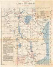 East Africa Map By Eduoard Marbeau