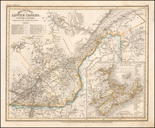 Canada Map By Joseph Meyer