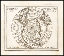 Polar Maps and Australia Map By Pierre Du Val
