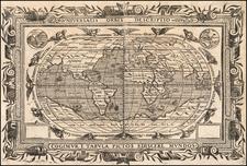 World Map By Joannes Myritius