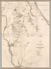 Florida Map By American State Papers