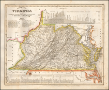 Mid-Atlantic and Virginia Map By Joseph Meyer