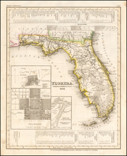 Florida Map By Joseph Meyer