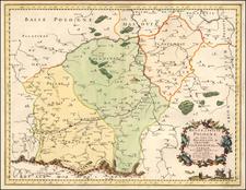 Poland Map By Nicolas Sanson