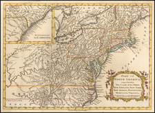 New England, Mid-Atlantic and Midwest Map By John Barrow