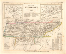 Tennessee Map By Joseph Meyer