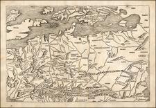 Europe, Europe, British Isles, Netherlands, Germany, Austria, Poland, Russia, Ukraine, Romania, Czech Republic & Slovakia and Scandinavia Map By Hartmann Schedel