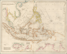 Southeast Asia, Philippines, Singapore, Indonesia and Malaysia Map By John Arrowsmith