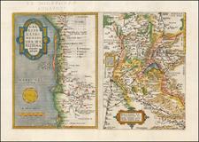 Switzerland, France and Sud et Alpes Française Map By Abraham Ortelius