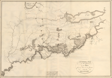 South, Kentucky, Tennessee, Midwest, Illinois, Indiana and Ohio Map By Victor George Henri Collot