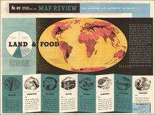 World and Pictorial Maps Map By Bureau of Current Affairs